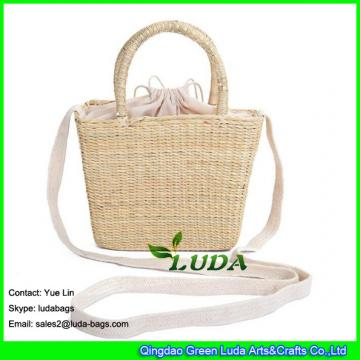 LDHC-011 new women beach straw bags natural straw basket bag messenger handbags