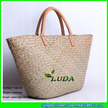 LDSC-094 2017 Hot Salte Tote Bag Summer Beach Seagrass Straw Bag