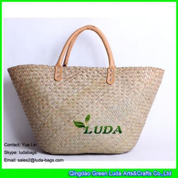 LDSC-094 2017 Hot Salte Tote Bag Summer Beach Seagrass Straw Bag