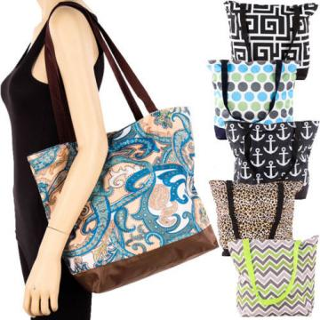 Shoulder Bag Printed Tote Handbag Purse Large Big Beach Reusable Eco Grocery New