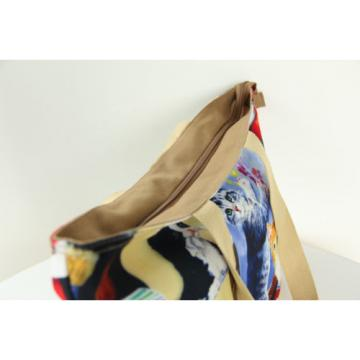 Flower Woman Canvas Messenger Shoulder Handbag Tote Beach Shopping Hobo Mom Bag