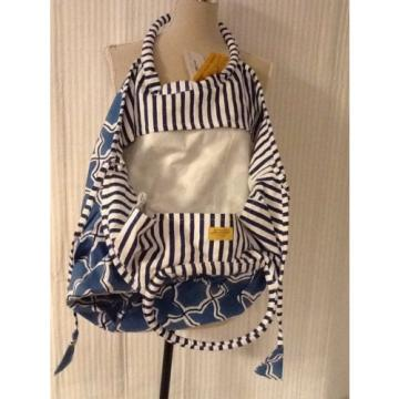 Roberta Roller Rabbit Bondi Bag Blue Argan From West Palm Beach W/Gift Bag