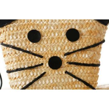 Natural Straw Weave Women Girl's Mini Beach Purse Shoulder Clutch Bags Handbags