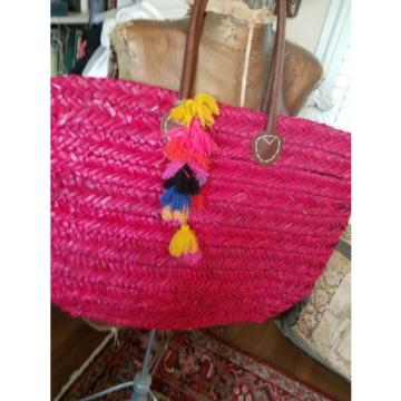straw tote beach bag
