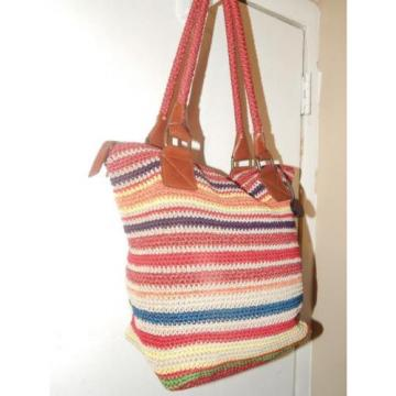 THE SAK Stripe Tote Beach Shopper Bag Deal of the Day