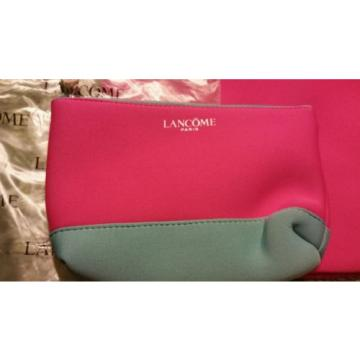 NEW LANCÔME Large Neoprene-type Beach Pool bag with matching case