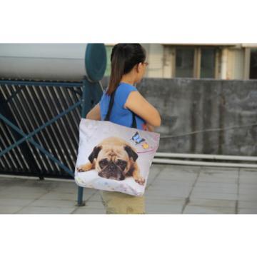Various Custom Design Tote Shopping Bag Beach Shoulder Handbag School Light Bag