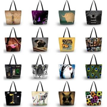 Fashion Travel Shopping Tote Beach Shoulder Carry Hobo Bag Women Handbag Washabl