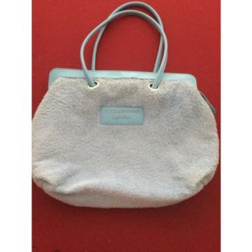 Dolce & Gabbana Clear Light Blue Tote Beach Bag Purse