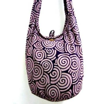 SUMMER BAG SLING SHOULDER BOHO GYPSY SCHOOL HOBO CAMPUS BEACH PURSE SPIRAL TRIP