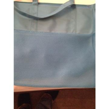 Jelly Bean Brand Tote Bag Blue Large Beach/Pool/Store