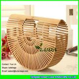 LDBB-006 natural rattan totes classical bamboo strip woven clutch bag
