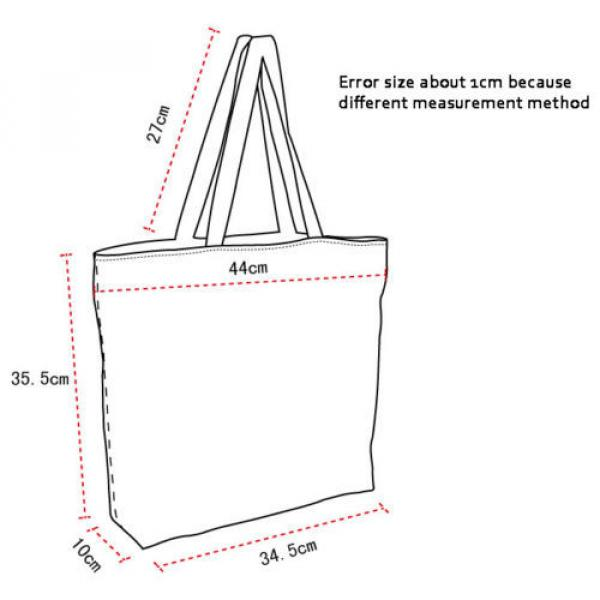 New Fashion Girl's Handbag Bag Polyester Shopping Bags Women's Totes Beach Bag #4 image