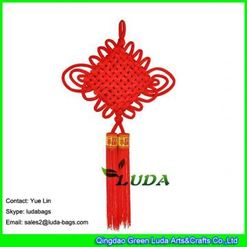 LDSP-010 traditional red lucky oriental pendant 2018 chinese new year decorative tassel  knots chinese ornaments