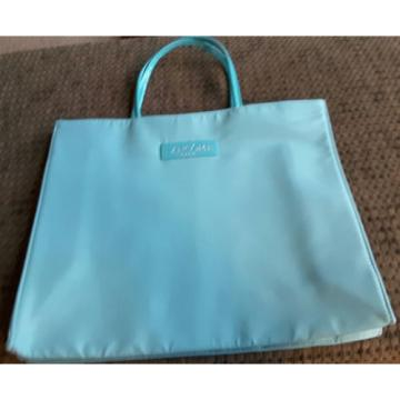 LANCOME Paris BAG NEW  blue/aqua Tote Beach bag