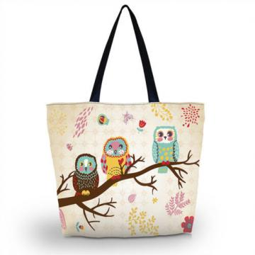 Fashion Owls Shopping Shoulder Bags Women Handbag Beach Bag Tote HandBags