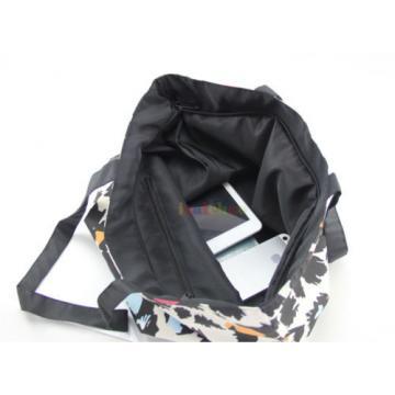 Women Girl Soft Washable Foldable Shopping Shoulder Beach School Sport Bag Tote