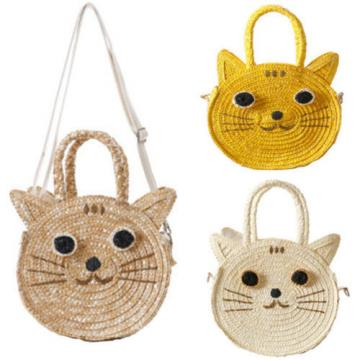 Natural Straw Weave Beach Bag Handbag Women Satchel Purse Crossbody Clutch Bags