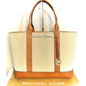 Michael Kors Large Travel Beach Resort Shopping Shoulder Tote Bag Purse  NWT