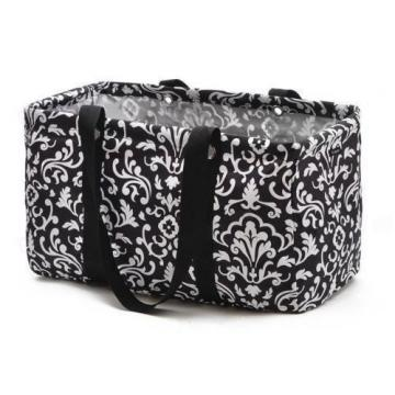 Defect Thirty one Medium utility beach tote bag 31 gift Black Parisian Pop