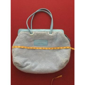 Dolce & Gabbana Clear Light Blue Tote Beach Bag Purse