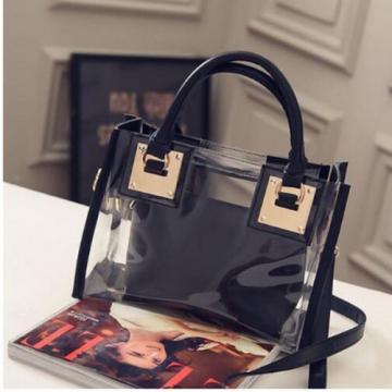 Transparent Shoulder Bag Fashion Jelly Package Women Beach Bag Charming Handbag