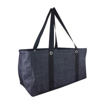 Thirty one Large utility beach laundry storage tote bag 31 gift Black Cross pop