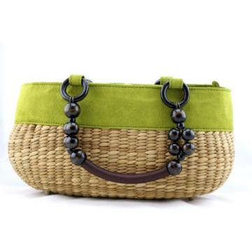 Straw ,Summer-Beach Shoulder-Bag-Handbag-Tote-Purse