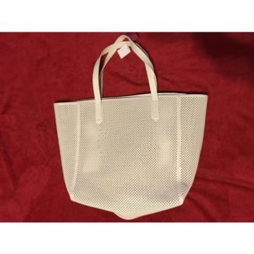 Merona Beach Bag New White