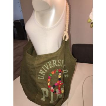 PINK By Victoria's Secret Tote Bag Beach Peace