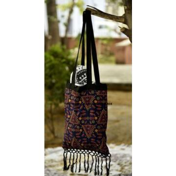 Indian Handmade Bag Mandala Printed cotton Tapestry Bag Beach Bag Shoulder Bag
