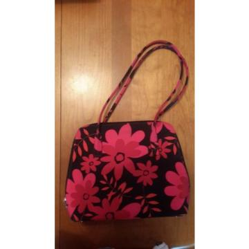Beach/Shopping Tote Bag Purse Waterproof Pink/Red/Black Floral purse