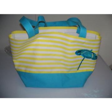 QUACKER FACTORY CANVAS TOTE/BEACH/CARRY BAG...NWOT