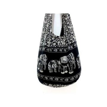 HOT SUMMER BEACH SHOULDER BAG SLING HOBO UNISEX CROSSBODY ELEPHANT THAI BOHO MEN