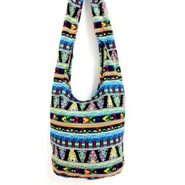 GIFT COLORFUL SHOULDER BAG SLING CROSSBODY YAAM HOBO MONK THAI BEACH YOGA SUMMER
