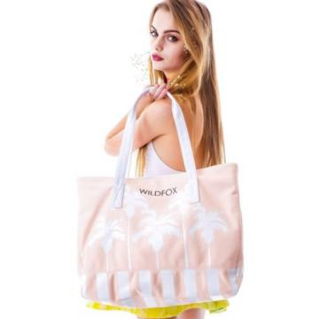 NWT Wildfox shoulder tote beach bag Belairpalms New