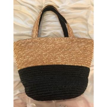 Neiman Marcus Straw Beach Bag