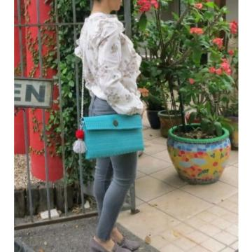 Handmade bag; Mexican Bag;Clutch;Beach Bag; Night bag; Plastic bag; Fashion Bag;