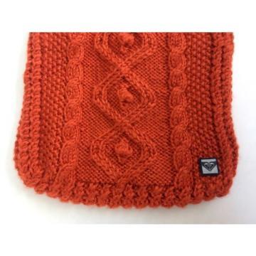 Roxy Crochet Bag Rust Color Boho Beach Vintage Orange Small Handmade New
