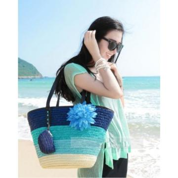 New Fashion Women Beach Bags, Summer Flower Knitted Strow bags
