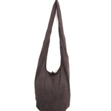 WOW! BEACH BAG SLING SHOULDER Single Tone NEW HOBO BOHO SMALL TRAVEL GIFT YOGA