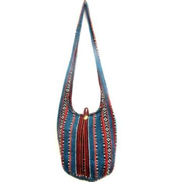 W11 SHOULDER BAG M HOBO CROSSBODY SLING NAGA HMONG TRIBAL HIPPIE BEACH TRAVEL