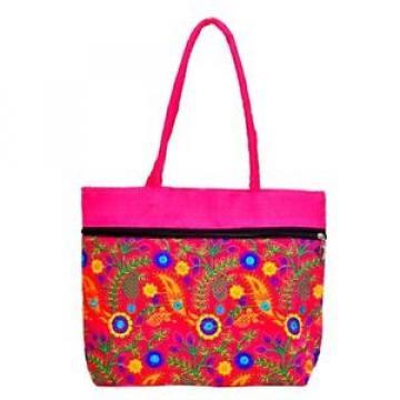 Handmade bag Ethnic Boho shopping purse Embroidery gypsy beach bag D33J