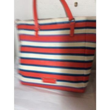 Marc Jacobs Colorful Stripe Jacobsen Beach Bag Tote