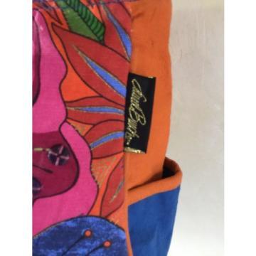 Laurel Burch Blossoming Woman Spirit Large Tote Bag Travel Beach Wearable Art
