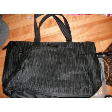 NWT! Victoria's Secret Runway SPRING BREAK Black Weekender Large Beach Bag Tote