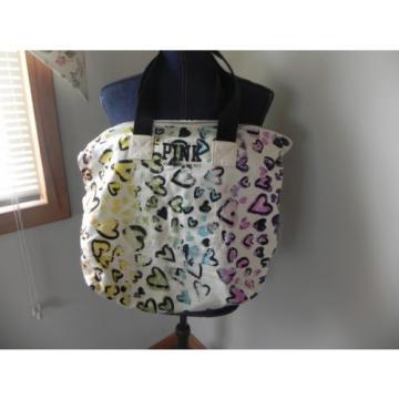 "Victoria's Secret "" PINK "" Canvas Tote / Purse / Beach Bag"