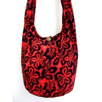 FLOWER BAG SLING GYPSY ADVENTURE UNISEX HOBO MONK BEACH THAI SMALL KID HMONG NEW