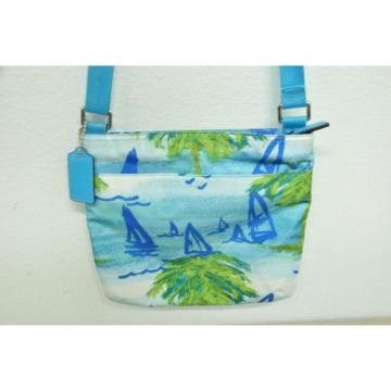 Coach 30023 Beach Scene Crossbody/Shoulder Bag Messenger/ Purse Handbag
