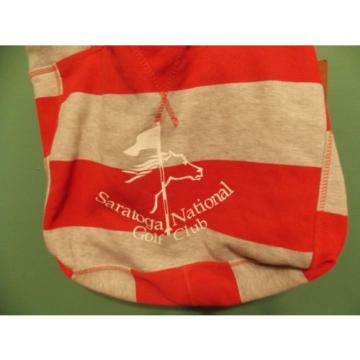 NEW MV SPORT BEACHCOMBER BEACH BAG SARATOGA NATIONAL GC LOGO
